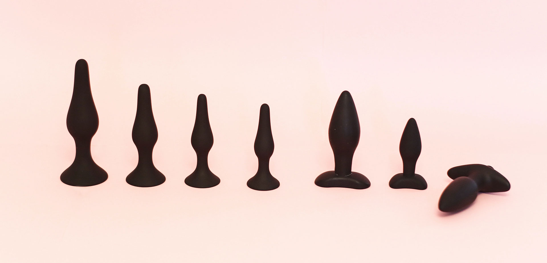 Anal plugs set.